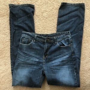 Buffalo David Bitton Boys Straight Leg Jeans 18